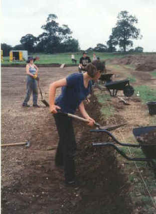 archaeology students at reading university