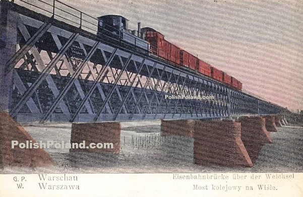 warsaw railway bridge
