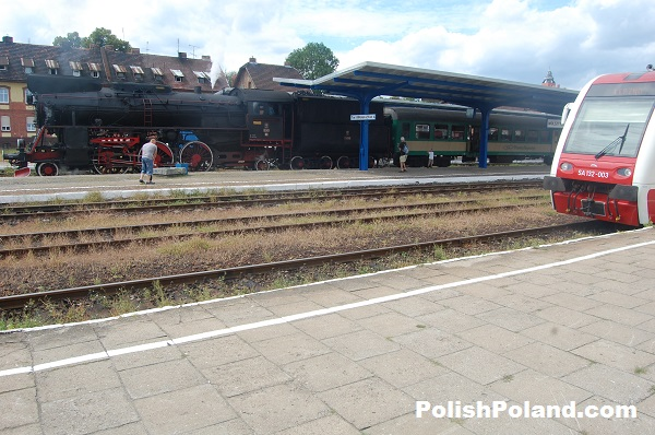 Polish Railways Wolsztyn, Poland.