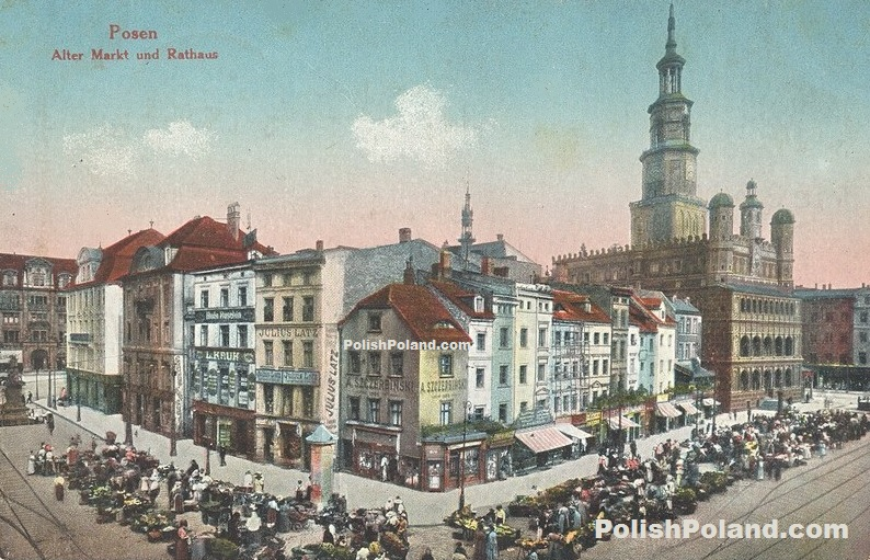 Posen Poznan City Hall