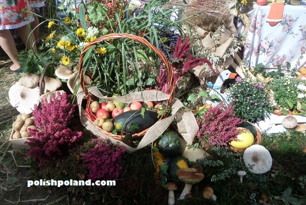 harvest festival display poland