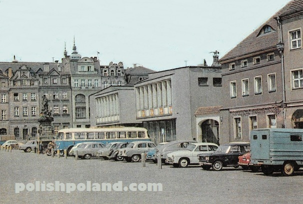 poznan old town square 1972