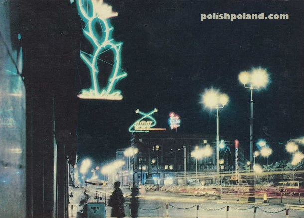poland nighttime