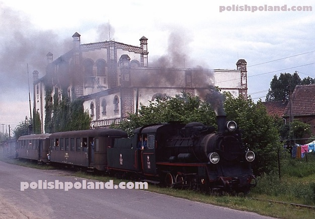 PKP Polish railways steam locomotive Nowy Tomysl